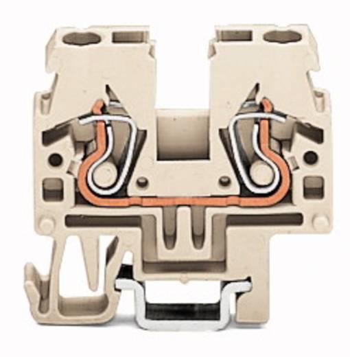 Doorgangsklem 5 mm Veerklem Toewijzing: L Grijs WAGO 870-919 100 stuks