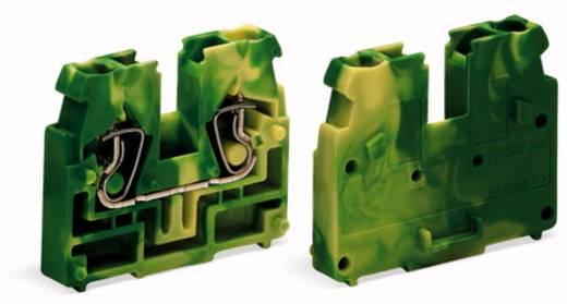 Doorgangsklem Veerklem Groen-geel WAGO 869-327 100 stuks