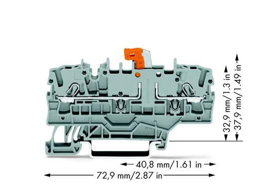 Diodeklem 5.20 mm Veerklem Grijs WAGO 2002-2212/1000-408 50 stuks