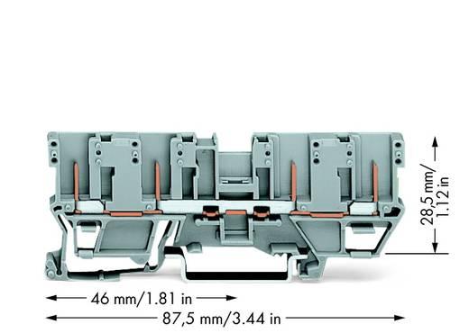 Basisklem 5 mm Steekklem Toewijzing: L Grijs WAGO 769-151 50 stuks
