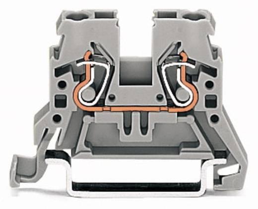Doorgangsklem 5 mm Veerklem Toewijzing: L Grijs WAGO 870-901 100 stuks