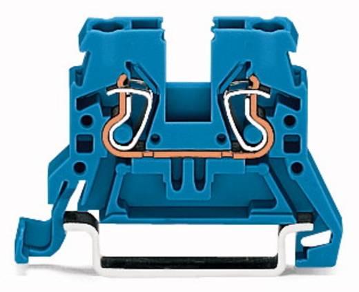 Doorgangsklem 5 mm Veerklem Toewijzing: N Blauw WAGO 870-904 100 stuks
