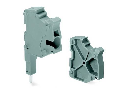 Klemstrook 6.20 mm Veerklem Grijs WAGO 2004-511 100 stuks