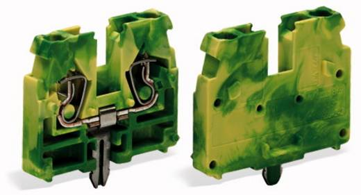 Doorgangsklem Veerklem Groen-geel WAGO 869-328 100 stuks