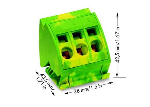 WAGO 812-110 PE-aansluitblok 16 mm² 12 stuks
