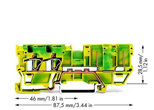 Basisklem 5 mm Veerklem Toewijzing: Terre Groen-geel WAGO 769-217 50 stuks