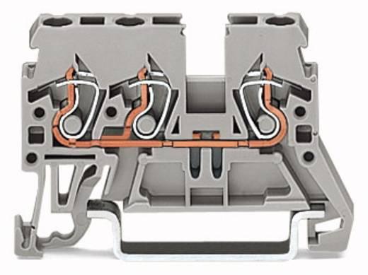 Doorgangsklem 5 mm Veerklem Zwart WAGO 870-685 100 stuks