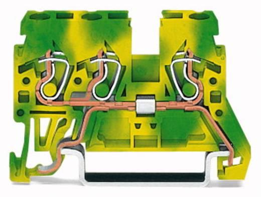Aardingsklem 5 mm Veerklem Toewijzing: Terre Groen-geel WAGO 870-687 100 stuks