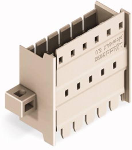 WAGO 2092-1634/024-000 Male doorvoerconnector met bevestigingsflenzen 50 stuks