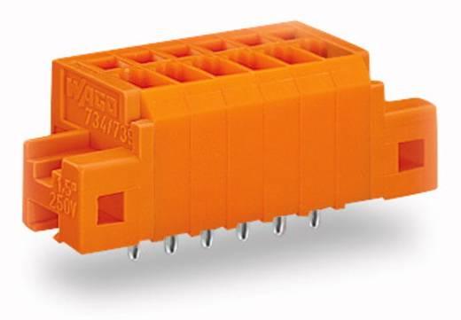 Veerkachtklemblok 1.50 mm² Aantal polen 5 739-335 / 100-000 / 001-000 WAGO Oranje 140 stuks