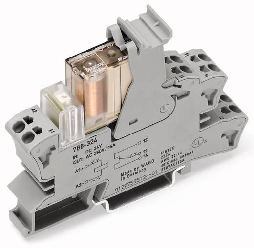 Insteekvoetje met relais en statusindicatie WAGO 788-323 15 stuks