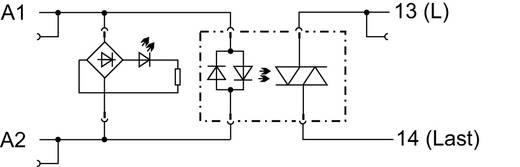 WAGO 788-721 Halfgeleiderrelais 15 stuks