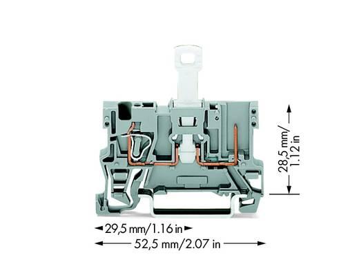 Basisklem 5 mm Veerklem Toewijzing: L Grijs WAGO 769-232 50 stuks