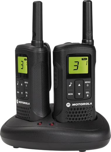 Motorola PMR-portofoon T60 8 km Set van 2
