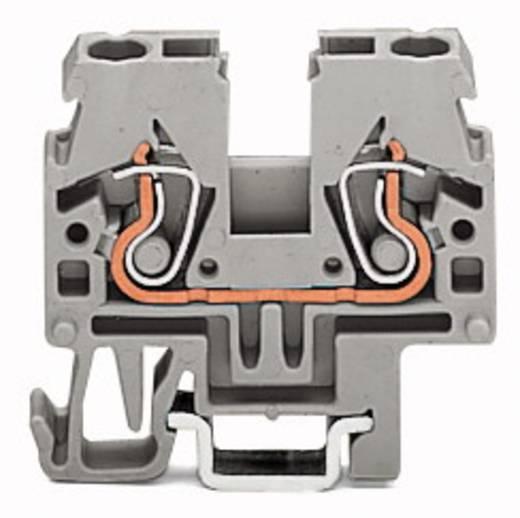 Doorgangsklem 5 mm Veerklem Oranje WAGO 870-912 100 stuks