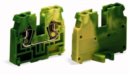 Doorgangsklem Veerklem Groen-geel WAGO 869-357 100 stuks