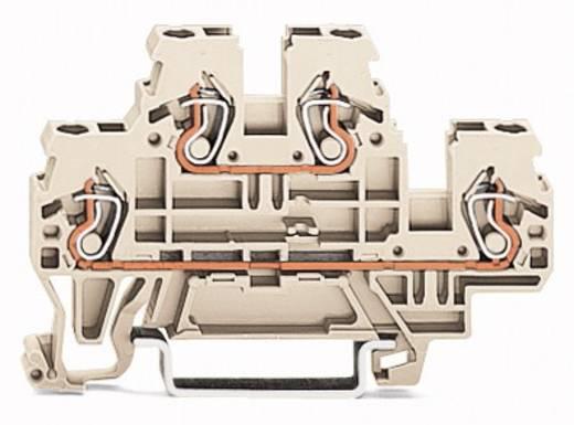Doorgangsklem 2-etages 5 mm Veerklem Toewijzing: L, L Grijs WAGO 870-961 50 stuks