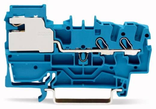 Scheidingsklem 5.20 mm Veerklem Toewijzing: N Blauw WAGO 2002-7214 50 stuks