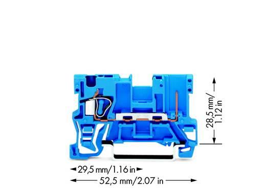 Basisklem 5 mm Veerklem Toewijzing: N Blauw WAGO 769-176/000-006 100 stuks