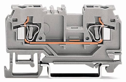 Doorgangsklem 5 mm Veerklem Oranje WAGO 880-902 100 stuks