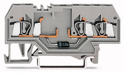 Diodeklem 5 mm Veerklem Toewijzing: L Grijs WAGO 280-673/281-411 100 stuks