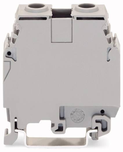 Doorgangsklem 16 mm Schroeven Toewijzing: L Grijs WAGO 400-415/415-124 20 stuks