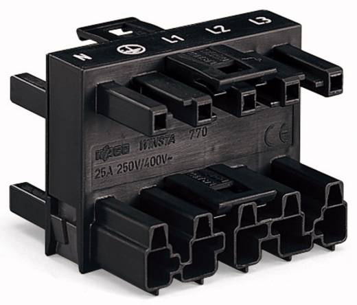 WAGO 770-609 Net-splitter Netstekker - Netbus, Netbus, Netbus Totaal aantal polen: 5 Zwart 25 stuks