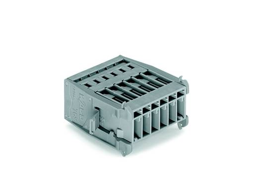 WAGO 769-606/005-000 Busbehuizing-kabel 769 Totaal aantal polen 6 Rastermaat: 5 mm 25 stuks