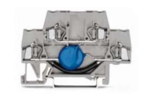 Diodeklem 5 mm Veerklem Toewijzing: L Grijs WAGO 870-592/281-491 50 stuks