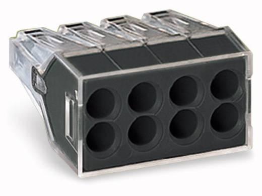 WAGO Lasklem Flexibel: - Massief: 0.75-2.5 mm² Aantal polen: 8 500 stuks Transparant