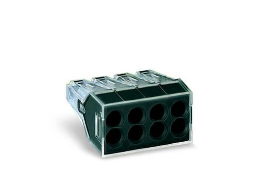 WAGO 773-108 Lasklem Flexibel: - Massief: 0.75-2.5 mm² Aantal polen: 8 500 stuks Transparant