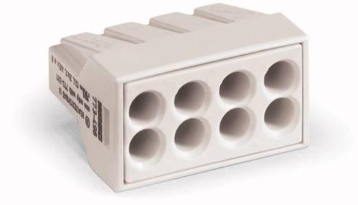 WAGO Lasklem Flexibel: - Massief: 0.75-2.5 mm² Aantal polen: 8 500 stuks Lichtgrijs