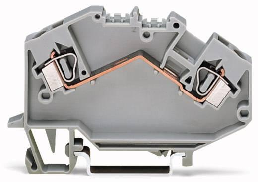 Doorgangsklem 6 mm Veerklem Toewijzing: L Grijs WAGO 781-992 50 stuks