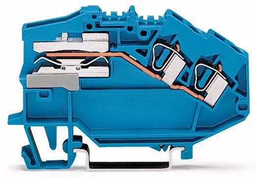 Scheidingsklem 6 mm Veerklem Toewijzing: N Blauw WAGO 781-643 50 stuks