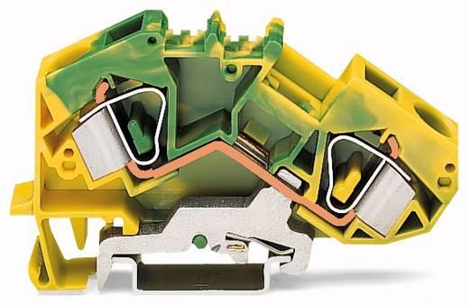 Aardingsklem 12 mm Veerklem Toewijzing: Terre Groen-geel WAGO 783-607 25 stuks
