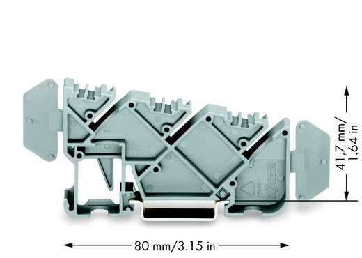 WAGO 812-140 Geïsoleerde verzamelraildrager 25 stuks