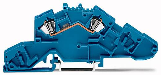 Installatie-etageklem 6 mm Veerklem Toewijzing: N Blauw WAGO 777-651 50 stuks