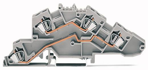 Installatie-etageklem 6 mm Veerklem Toewijzing: N, N Blauw WAGO 777-653 50 stuks