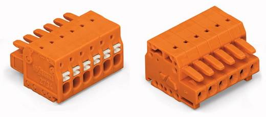 WAGO 2734-206 Busbehuizing-kabel 2734 Totaal aantal polen 6 Rastermaat: 3.81 mm 100 stuks
