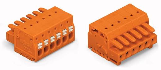 WAGO 2734-206/031-000 Busbehuizing-kabel 2734 Totaal aantal polen 6 Rastermaat: 3.81 mm 50 stuks