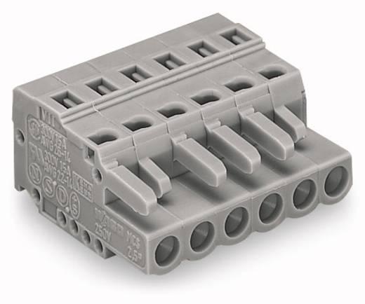 Busbehuizing-kabel 231 Totaal aantal polen 4 WAGO 231-104/026-000 Rastermaat: 5 mm 100 stuks