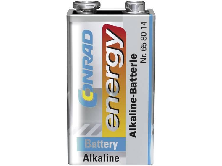 Conrad energy 6LR61 9 V batterij (blok) Alkali-mangaan 9 V 1 stuks
