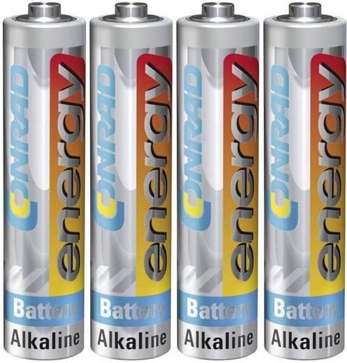 Conrad energy LR03 AAA batterij (potlood) Alkaline (Alkali-mangaan) 1.5 V 4 stuks
