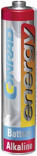 Conrad energy Extreme Power LR03 AAA batterij (potlood) Alkaline (Alkali-mangaan) 1.5 V 4 stuks