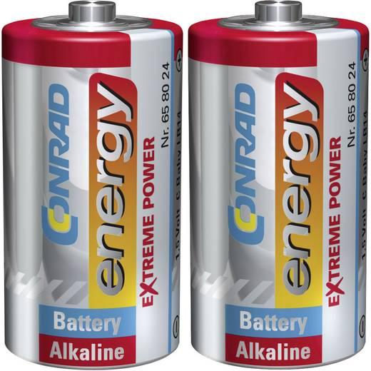 Conrad energy Extreme Power LR14 C batterij (Baby) Alkaline (Alkali-mangaan) 1.5 V 2 stuks