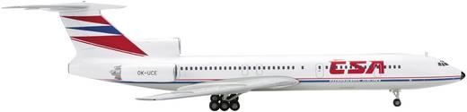 Vliegtuig 1:200 Herpa CSA Tupolev TU-154M 554558
