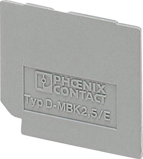 Phoenix Contact D-UK 2,5 BU D-UK 2,5 BU - afsluitdeksel 1 stuks