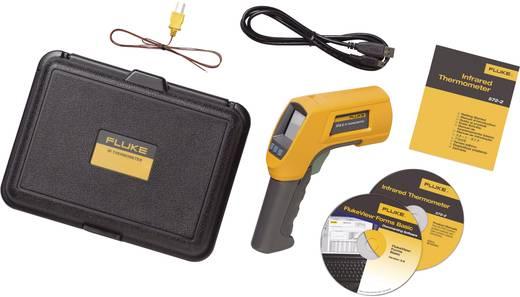 Infrarood-thermometer Fluke 572-2 Optiek (thermometer) 60:1 -30 tot +900 °C Contactmeting Kalibratie mogelijk: Zonder ce
