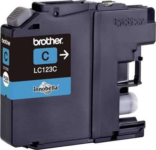 Brother Inkt LC-123C Origineel Cyaan LC123C