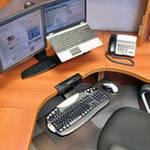 Ergotron Neo-Flex ondertafel toetsenbord zwenkarm